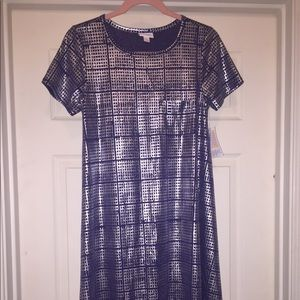 LuLaRoe NWT Elegant Carly Dress XS